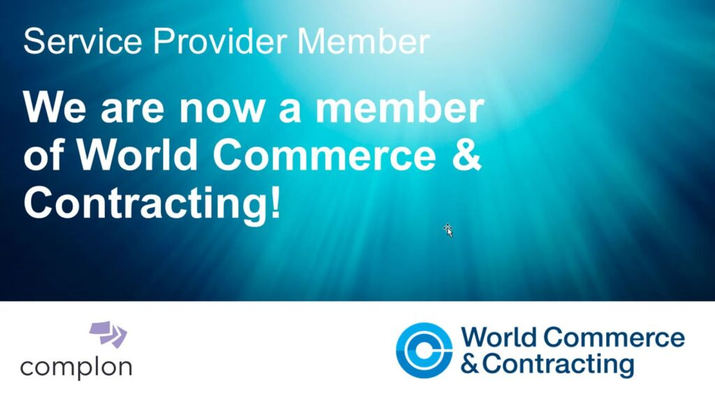 World Commerce and Contracting Service Provider Member