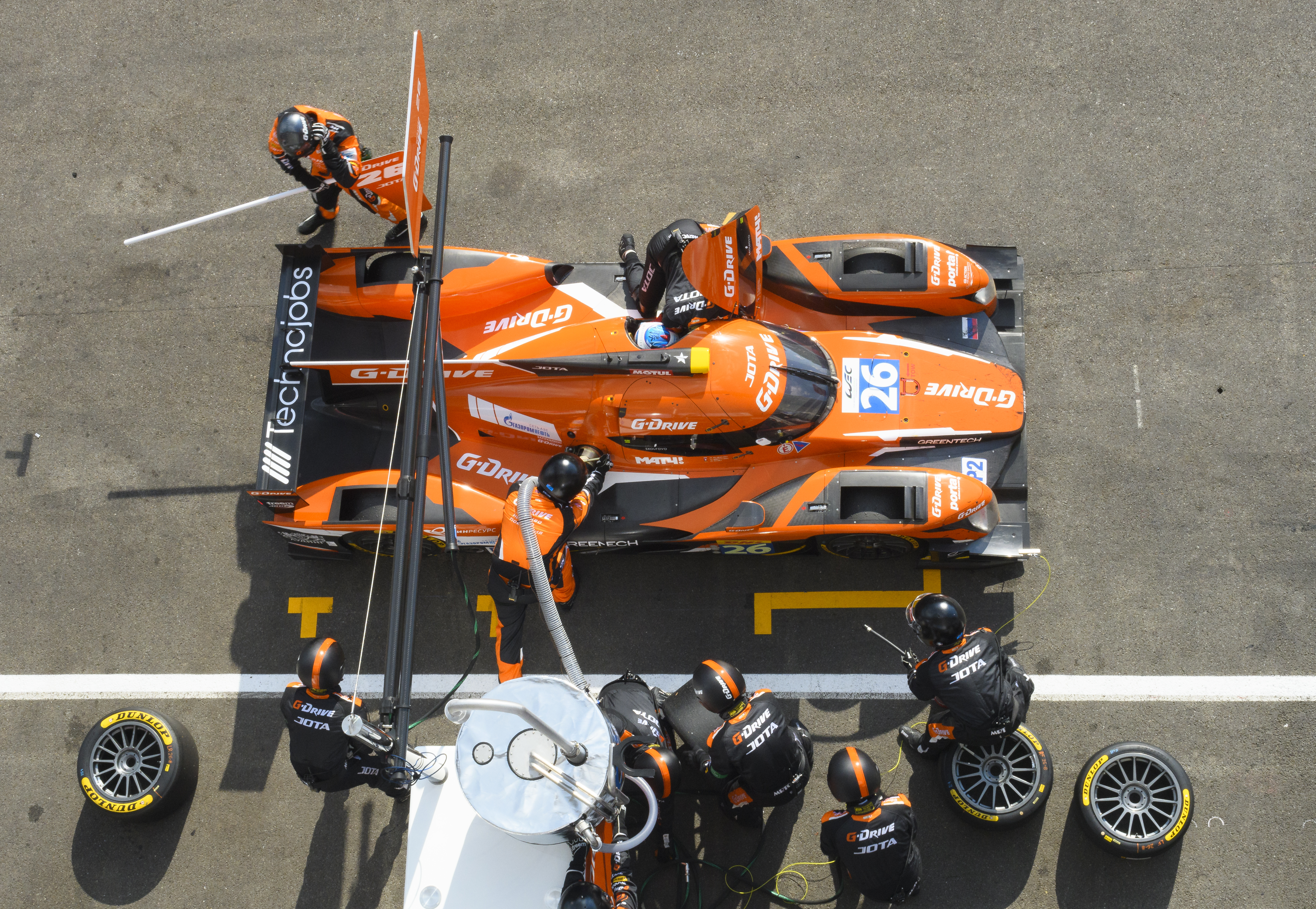 G-Driving Pit-Stop