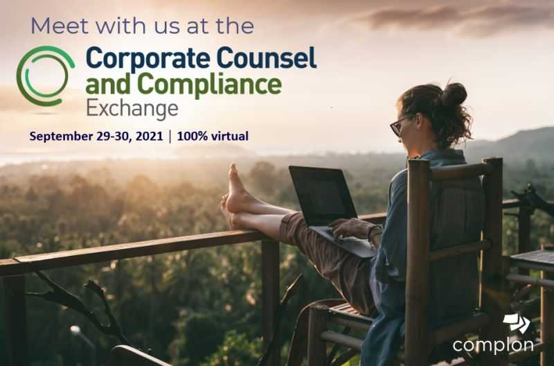 Corporate Counsel and Compliance Exchange Banner